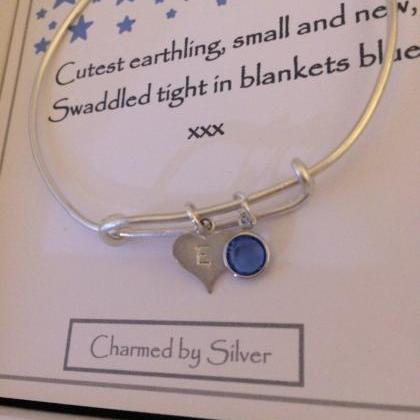Sterling Silver Hand Stamped My Lit..