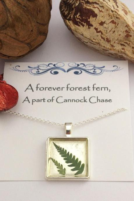 Forever Forest Fern Necklace - a perfect winter necklace